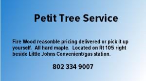 Petit Tree Service Firewood